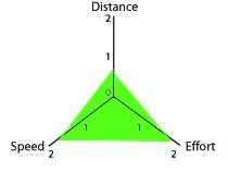 Training profile for speedwork.