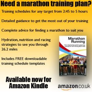 Looking for a marathon training programme? Available now: Marathon Running: Your step-by-step guide to planning, training for and running 26.2 miles - available now from Amazon