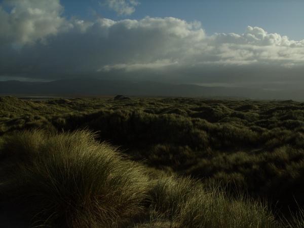Ynyslas Sands, Borth (not far from Aberystwyth) on a stormy-but-sunny winter's day.