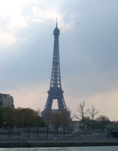 The Eiffel Tower, the day after the race