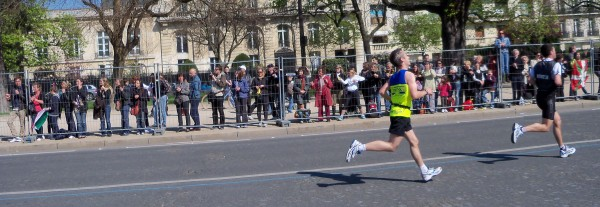 The final sprint for the finish