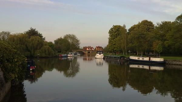 Abingdon's riverside