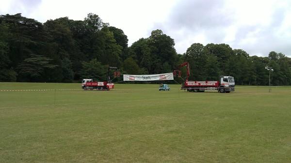 Wycombe Half Marathon start line