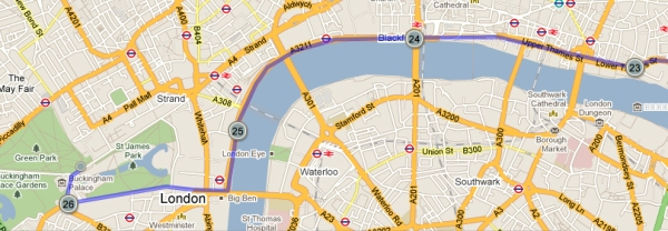 The final four miles of the Virgin London Marathon