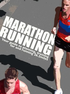 The cover of Marathon Running