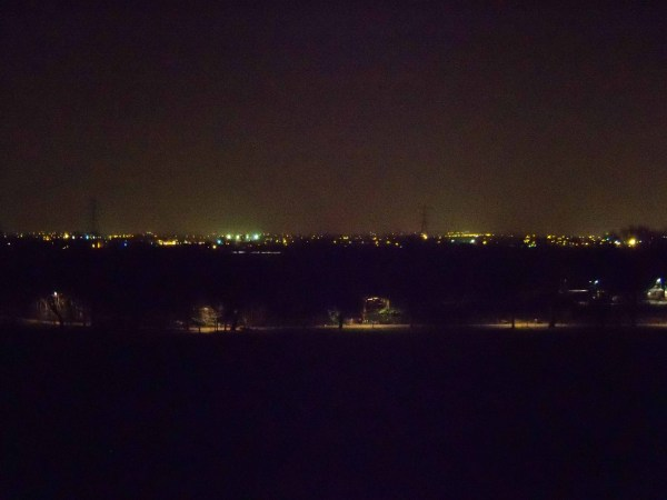 The Lee Valley by night
