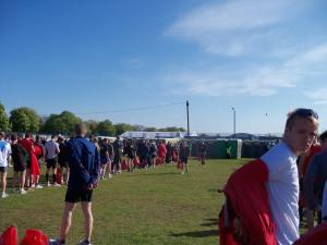 Portaloo queues