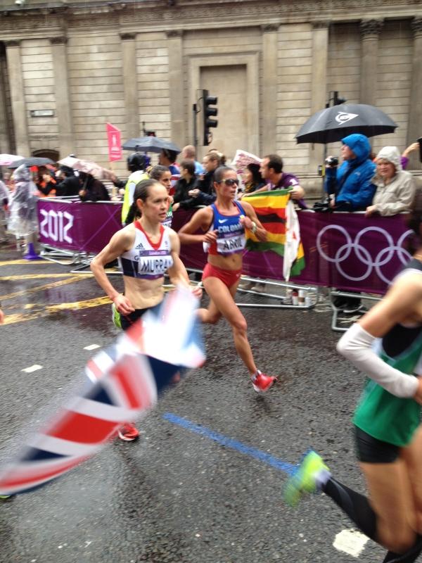 Freya Murray in the women's Olympic Marathon