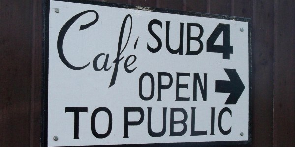 Cafe Sub 4 in Oxford