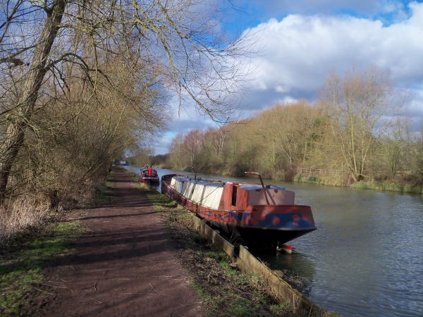 Dirt tracks, canal boats and trees - and no pylons in sight