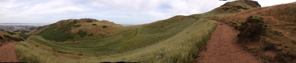 Paths in Holyrood Park